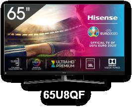 HISENSE 65U8QF 65'' LED 4K