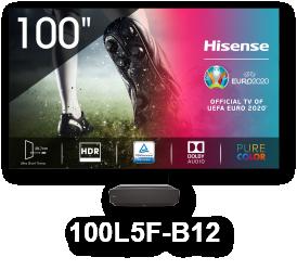 HISENSE HE100L5F 100'' LASER 4K