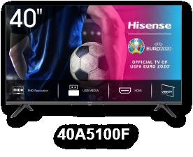 HISENSE 40A5100F 40'' LED Full HD