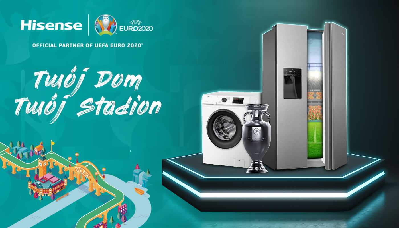 Hisense & Euro2020 | Twój Dom Twój Stadion
