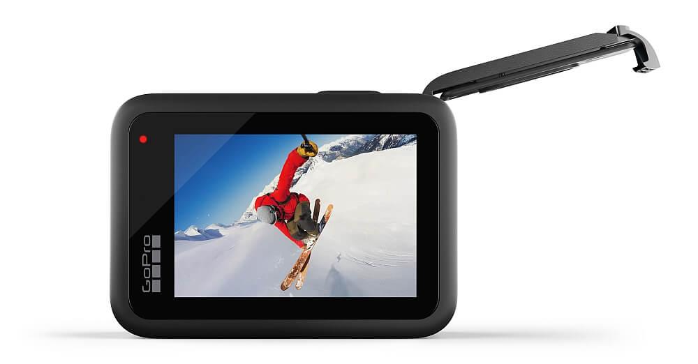 Kamera sportowa GOPRO HERO10 filmy zdjęcia nagrywanie obiektyw rozdzielczość odporność wymiary montaż ogniskowa tryby funkcje cechy opis ekran sterowanie