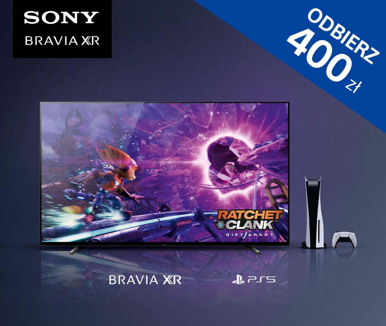 Sony TV - zyskaj nawej do 1000 zł