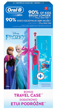 ORAL-B D12 KIDS FROZEN + ETUI