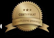 certyfikat przedłużonej gwarancji