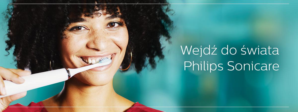 Wejdż do świata Philips Sonicare
