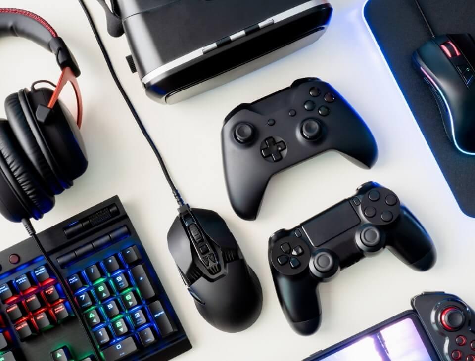 Wybierz sprzęt gamingowy