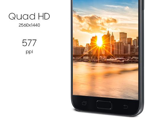 Ekran WQHD Galaxy S7
