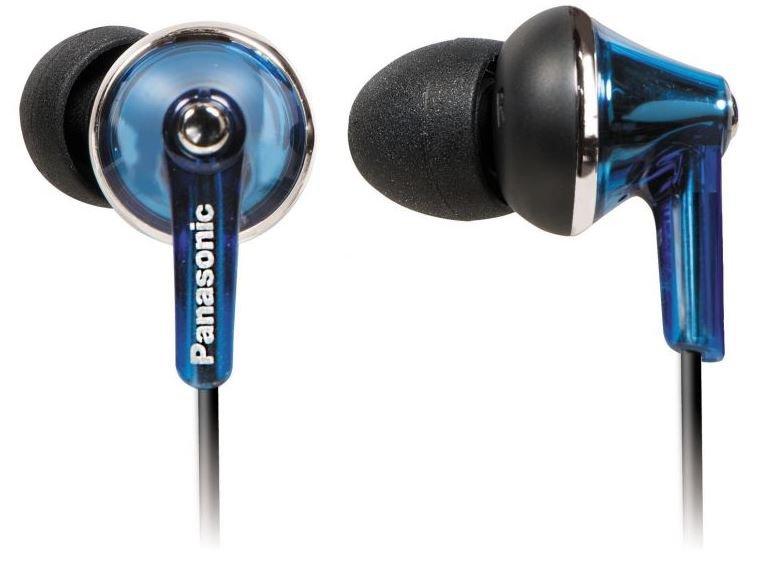 Słuchawki douszne PANASONIC RP TCM190E A z mikrofonem Niebieski