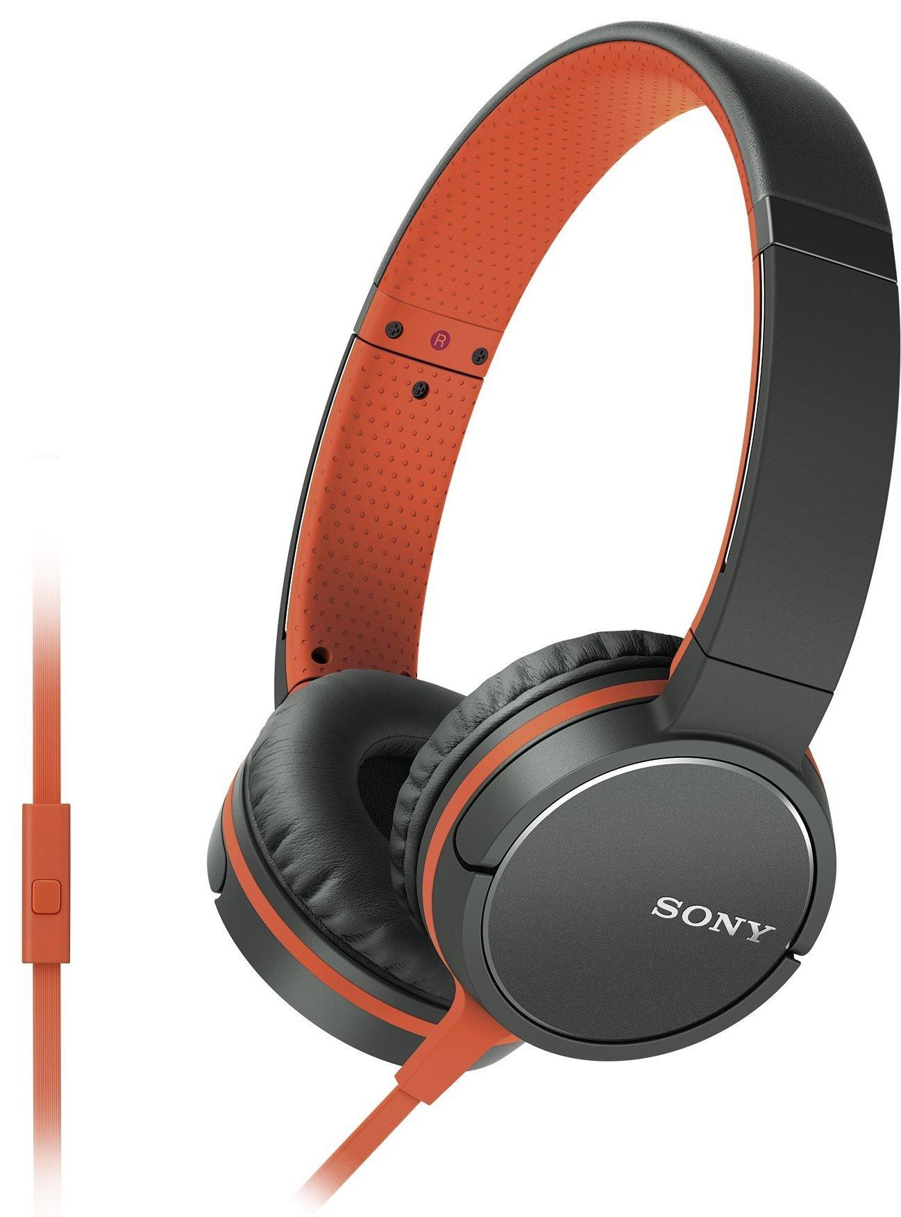 Słuchawki SONY MDRZX660APD.CE7 Pomarańczowy