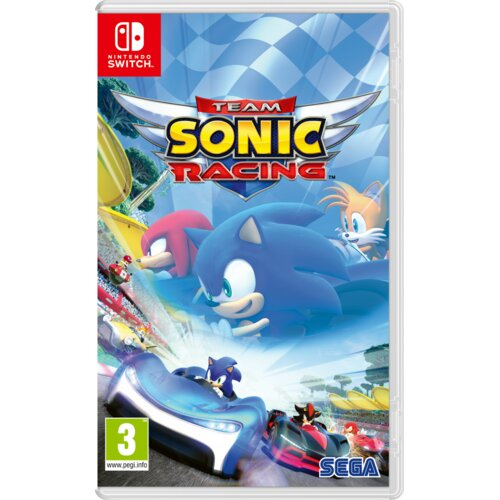 Team Sonic Racing Gra NINTENDO SWITCH