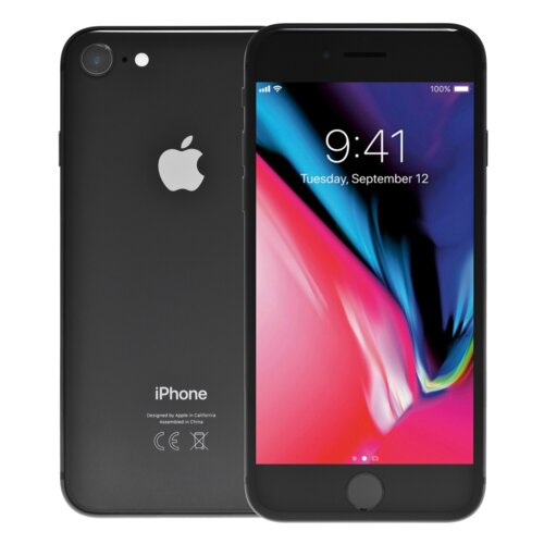 "Smartfon APPLE iPhone 8 64GB 4.7"" Gwiezdna szarość MQ6G2PM/A"