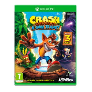 Crash Bandicoot N. Sane Trilogy Gra XBOX ONE