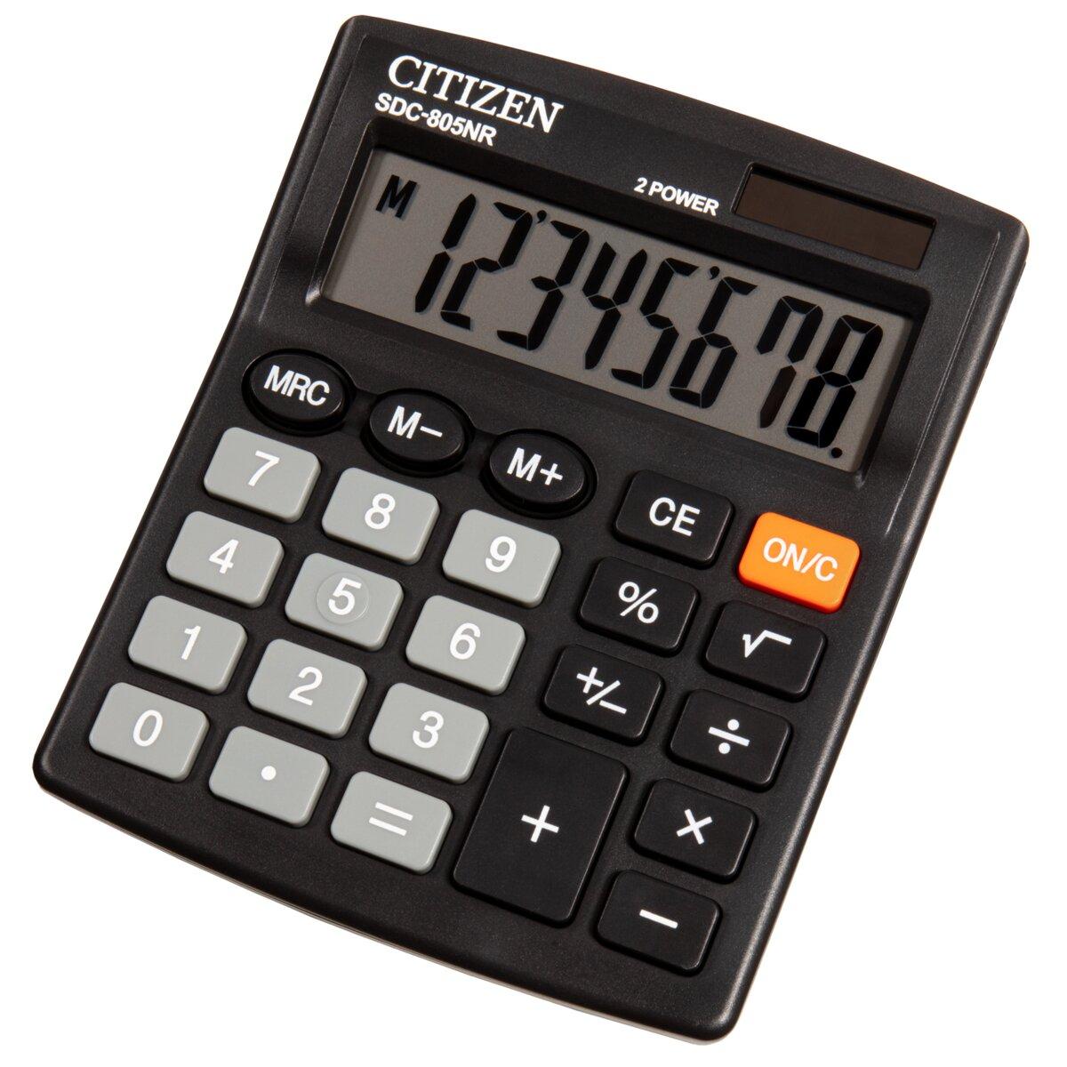 CITIZEN SDC-805NR Kalkulator - ceny i opinie w Media Expert