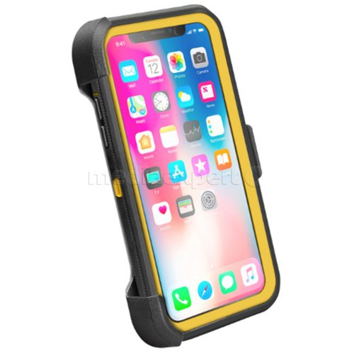 Etui SBS Unbreakable do Apple iPhone X/XS Czarno-żółty