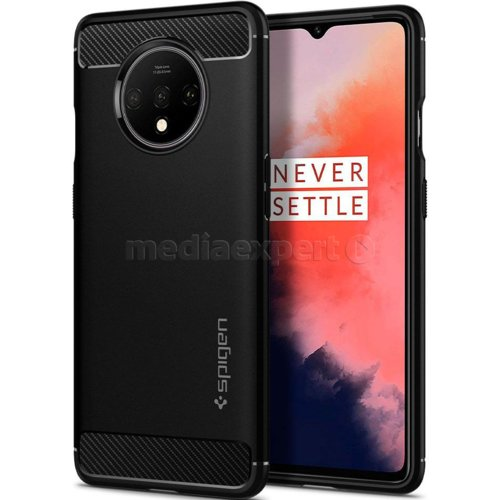 Etui SPIGEN Rugged Armor do OnePlus 7T Czarny
