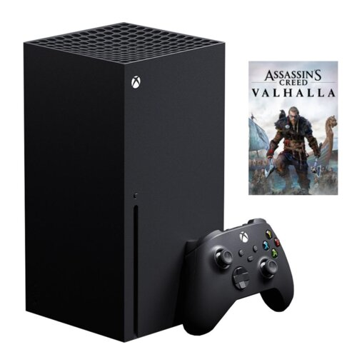 Konsola MICROSOFT XBOX Series X + Gra Assassin's Creed Valhalla
