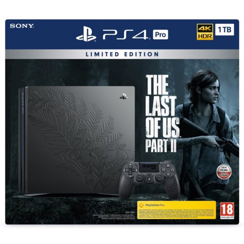 Konsola SONY PlayStation 4 Pro 1TB + The Last of Us Part II