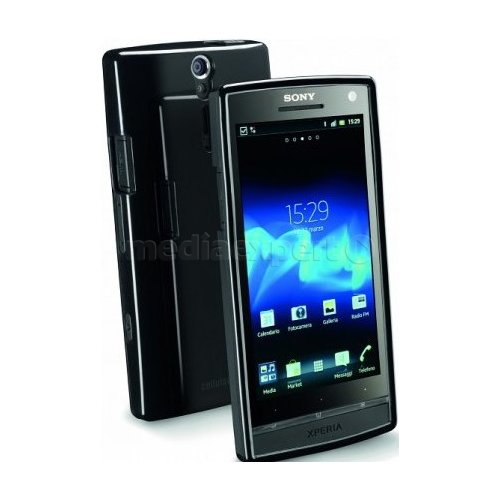 Pokrowiec CELLULAR LINE Shocking do Sony Xperia S Czarny