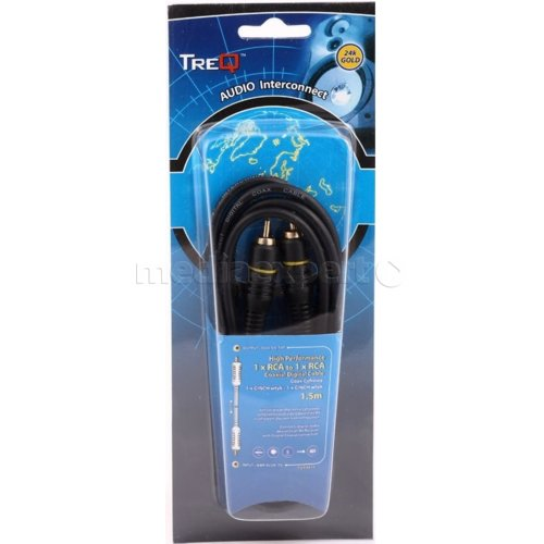 Kabel 1 x Cinch - 1 x Cinch TREQ  1.5 m