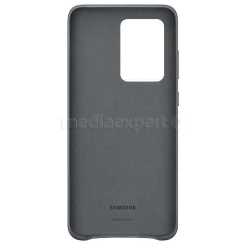 Etui SAMSUNG Leather Cover do Galaxy S20 Ultra EF-VG988LJEGEU Szary