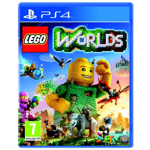 Lego Worlds Gra PS4