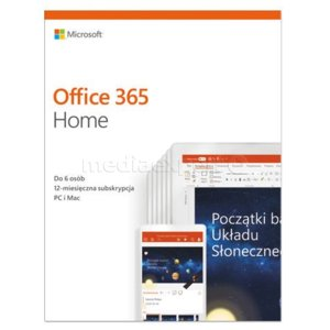 Program MICROSOFT Office 365 Home
