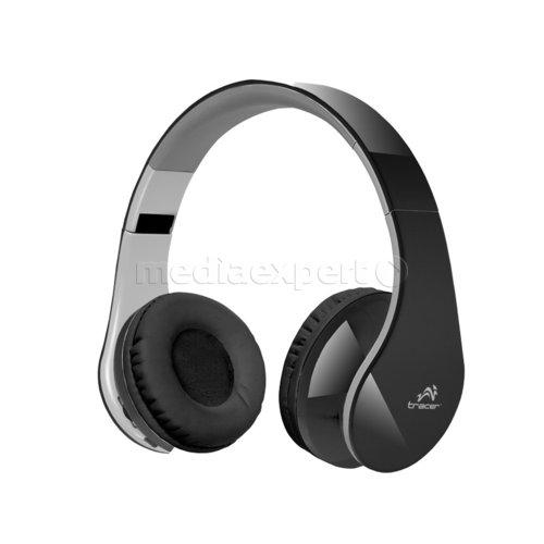 Słuchawki nauszne TRACER Traslu44303 Mobile BT z mikrofonem Czarno szary
