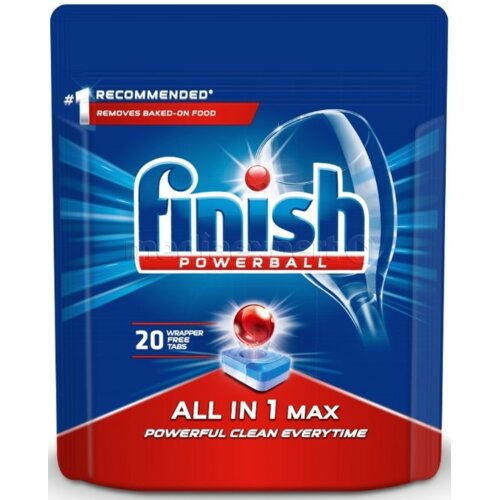 Tabletki do zmywarek FINISH All in 1 Max 20 szt.