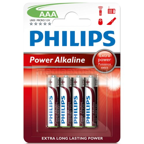 Bateria PHILIPS Power LR3/AAA (4 szt.)