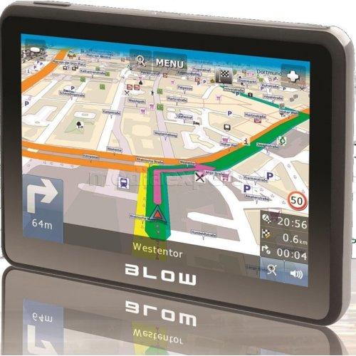 Blow Sirocco Gps 580 Automapa Europa Nawigacja Ceny I Opinie W
