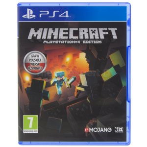 Minecraft Gra PS4