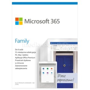 Program MICROSOFT 365 Family