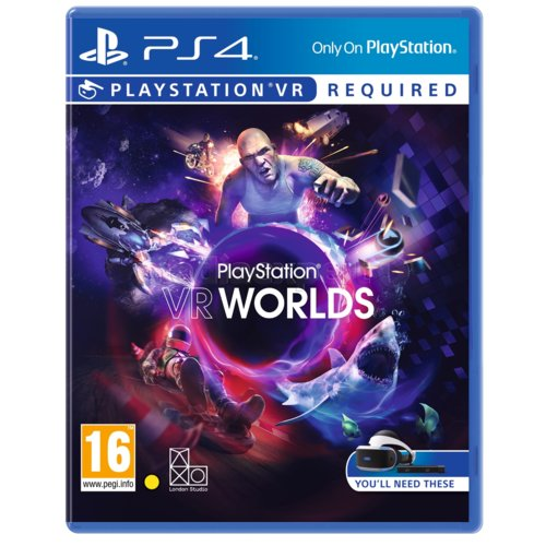 Worlds Gra PS4 VR