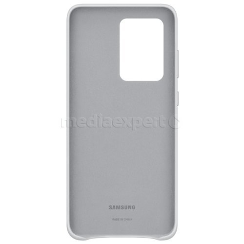 Etui SAMSUNG Leather Cover do Galaxy S20 Ultra EF-VG988LSEGEU Jasno-szary
