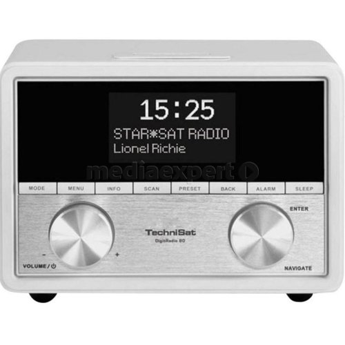 Radio cyfrowe TECHNISAT Digitradio 80 DAB+