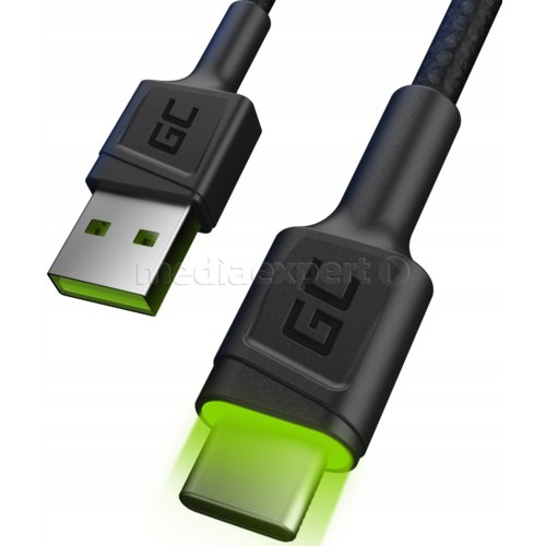 Kabel USB - USB Typ-C GREEN CELL GC Ray 1.2 m