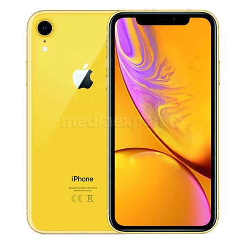 Smartfon APPLE iPhone Xr 256GB Żółty