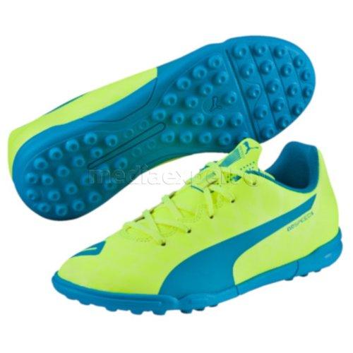Buty PUMA EvoSpeed 5.4 TT 103296 (rozmiar 37) Zielono niebieski