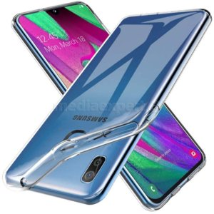 Etui TECH-PROTECT Flexair do Samsung Galaxy A40 Przezroczysty