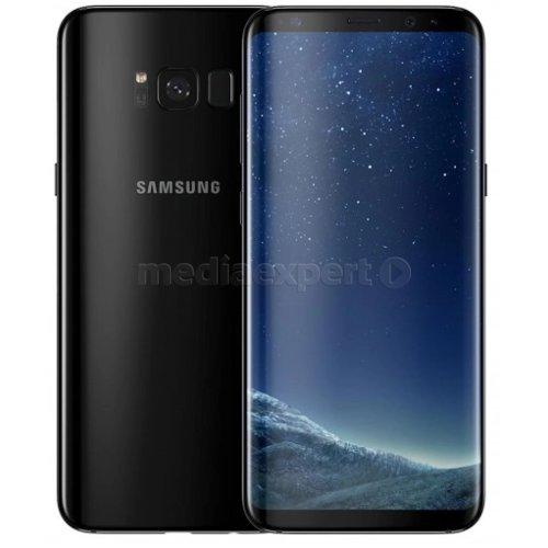 SAMSUNG Galaxy S8 64GB SM G950 Midnight Black Smartfon ceny i opinie w Media Expert