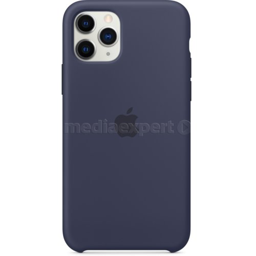 Etui APPLE Silicone Case do iPhone 11 Pro Granatowy