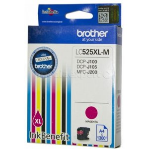 Tusz BROTHER LC-525XLM Magenta