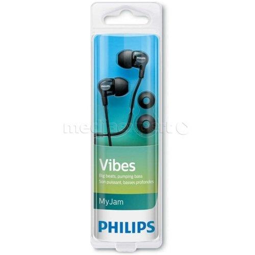 Słuchawki douszne PHILIPS SHE3700BK Czarny