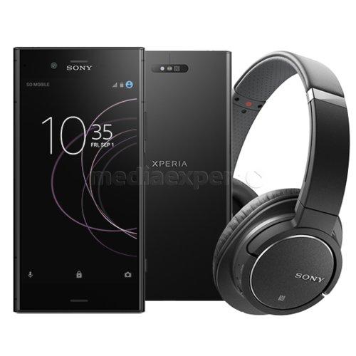 Smartfon SONY Xperia XZ1 Czarny + Słuchawki MDR ZX770BN