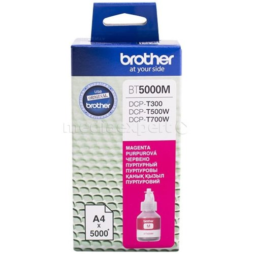 Tusz BROTHER BT5000M Magenta