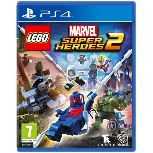 Lego Marvel Super Heroes 2 Gra PS4 (Kompatybilna z PS5)