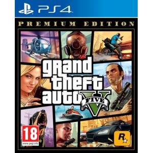 Grand Theft Auto V - Edycja Premium Gra PS4