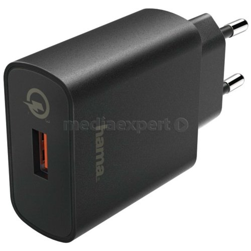HAMA Qualcomm Quick Charge 3.0 Ładowarka sieciowa ceny i opinie w Media Expert