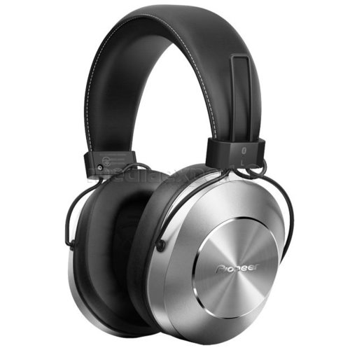 Słuchawki nauszne PIONEER SE MS7BT Srebrny