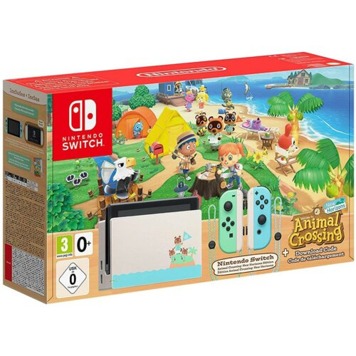 Konsola NINTENDO Switch + Animal Crossing: New Horizons